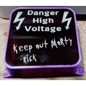 High Voltage Board Protective Cover
