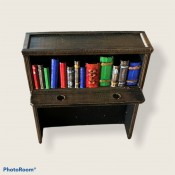 The Vault Bookcase Cabinet