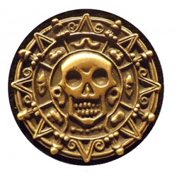 Collect Gold Pirate Coin- Black Pearl Replacement Standup Decal Set