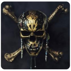 The Depths- Skull & Crossbones Spinner Decal Set